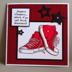 woodware sneakers stamp - Google Search
