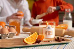 Orange Cognac - #LaBelleMeche #BougieParfumee #ScentedCandle #lifestyle - Photographe : Blaise Arnold - Production : La Fabrique de Mai