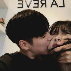 Fall in love relationship goals peach cheek Korean Aesthetic, Couple Aesthetic, Cute Relationship Goals, Cute Relationships, Cute Couples Goals, Couple Goals, Cute Couple Pictures, Couple Photos, Korean Couple