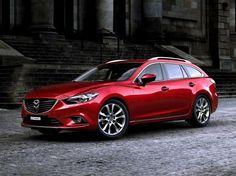 """Mazda 6 Station Wagon III. На автосалоне в Москве 2012 состоялась премьера новой Mazda6 седан, а в начале сентября в сеть попали официальные фтографии """"шестерки"""" третьего поколения в кузове универс..."""