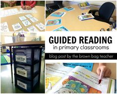 Guided Reading: 1st Grade Style - The Brown Bag Teacher