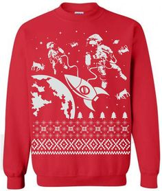Astronauts Exploring In Space Ugly Christmas Sweater Images, Reindeer Ugly  Sweater, Ugly Christmas Jumpers be0f3dd629