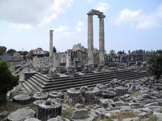 Didyma Temple of Apollo   Flickr - Photo Sharing!