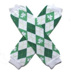 St. Patrick's Day Shamrock Green & White Argyle - My Sweet Legs Infant Baby Child toddler Little Girl or Boy Leg Warmers by Sydney So Sweet by Sydney So Sweet. $5.49. Perfect to protect your crawler's knees.. Perfect to pull on with dresses, skirts and shorts.. Make diaper changing and potty training a breeze.. One size fits most, infant to child. (May fit over knees on babies/toddlers.). Not just for legs. Try them as arm warmers too!. Measure approximately 10-12 inches ...