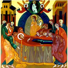 Dormission: Mary laid to rest before the assumption