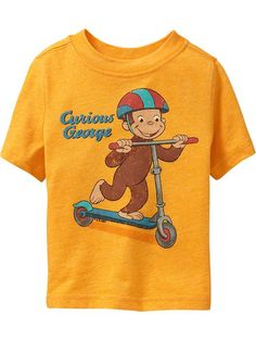 Old Navy | Curious George Tees for Baby