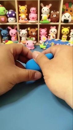 Paper Clay, Clay Art, Diy Clay, Clay Crafts, Fuwa Fuwa, Cute Baby Sloths, Doodle Cartoon, Cute School Supplies, Polymer Clay