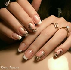 Ideas Pink French Manicure Tips Nude Nails French Nail Art, French Tip Nails, Crazy Nails, Fancy Nails, Nude Nails, Pink Nails, Gorgeous Nails, Pretty Nails, Beautiful Nail Designs