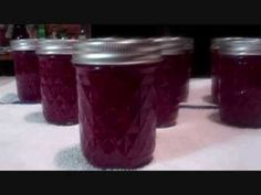 How To Make Amazing Cranberry/Raspberry Jam! Easy Recipe! Fantastic Tast...
