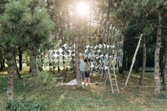 Gallery of Studio Nomad Creates Mirrored Pavilion for Hungary's Sziget Music…