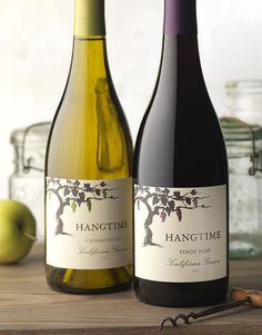 CF Napa Brand Design - Hangtime Wine Packaging, Packaging Design, Brand Design, Logo Design, Wine Advertising, Wine Photography, Custom Bottles, Pinot Noir, Wine Recipes