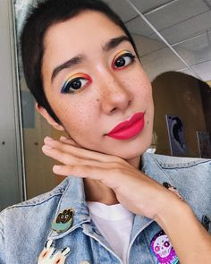 It's Pride day here in El Salvador! The march is just starting right now and this is my rainbow look ✨ I'm very proud of it since I've…