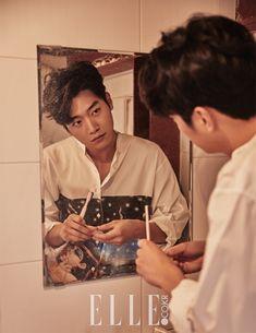 Seo Kang Joon for Elle Korea November Photographed by Maeng Minhwa Gong Seung Yeon, Seung Hwan, Korean Star, Korean Men, Asian Actors, Korean Actors, Seo Kang Joon Wallpaper, Seo Kang Jun, Wattpad Book Covers
