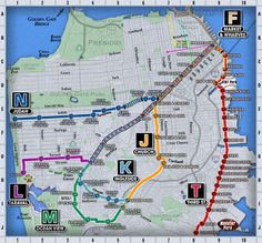 Trolley Cars San Francisco Map.178 Best San Francisco Bay Area With Kids Images Bay Area San