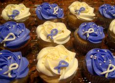 relay for life cupcake ideas - Google Search