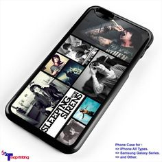 sleeping with sirens collage - Personalized iPhone 7 Case, iPhone 6/6S Plus, 5 5S SE, 7S Plus, Samsung Galaxy S5 S6 S7 S8 Case, and Other
