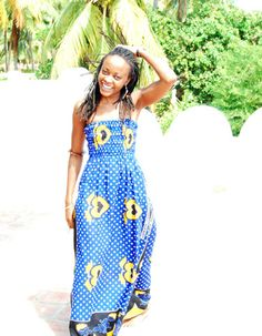 Leso dress.... so Kenyan!