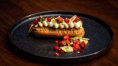 Emelia Jackson's Pistachio and Strawberry Eclair is a fun, delicious dessert to make at home and perfect for any occasion.