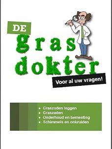 Gratis boekje met tips van de grasdokter voor het onderhoud van gras