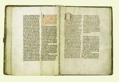 This Scottish liturgical manuscript,called The Holyrood Ordinale and dating from the mid-fifteenth century,was written for use in the Augustinian Abbey of Holyrood,founded by David I in 1128.An ordinal is a book of rules for the daily services throughout the year in an abbey or church.In large churches or monasteries such as Holyrood the ordinal was used at the daily meeting of the Chapter,held in the Chapter House.