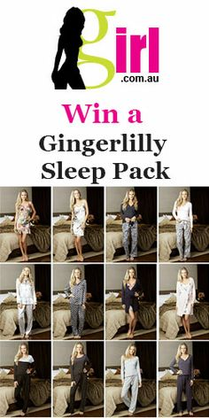 Win a #Gingerlilly Sleep Pack of #pyjamas and #blankets! #competition