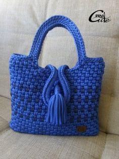 Вязаные сумки - 6