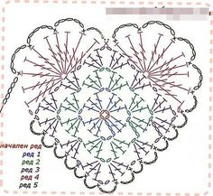 Beautiful Jewelry Unique 44 Ideas for crochet heart amigurumi. Beautiful Jewelry Unique 44 Ideas for crochet heart amigurumi Crochet Diy, Crochet Doily Patterns, Crochet Chart, Crochet Squares, Thread Crochet, Crochet Gifts, Crochet Motif, Crochet Flowers, Crochet Stitches