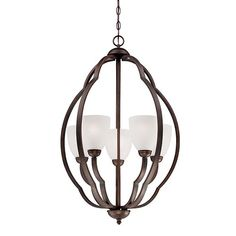 Found it at Wayfair - Camilla 5 Light Shaded Chandelier