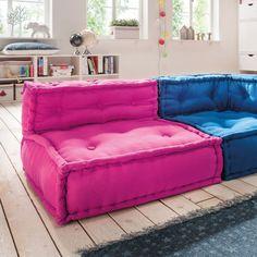 Wohnideen wohnzimmer 39 ideen f r ein sommerliches flair for Sofa orientalisch