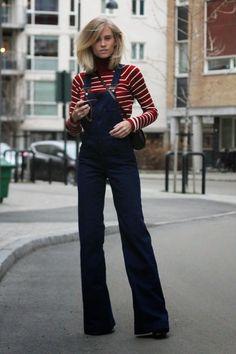 Fashion Cognoscente: Who Wore It Best? Zara Denim Overalls