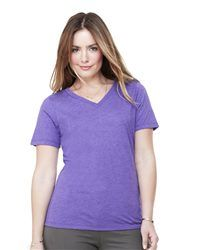 Bella + Canvas 6405 - Missy Short Sleeve Jersey V-Neck T-Shirt - Wholesale and Bulk Pricing Available