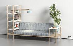espritdesign:  Herb le canapé multifonction par Burak Kocak