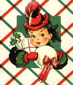 Old Christmas Post Сards —   Vintage (500x580)