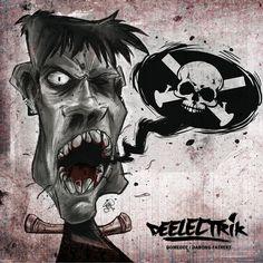 Domenico Ferro Graphic Designer Deelectrik Cd Cover feat. Nico Cesc (Illustrazione)