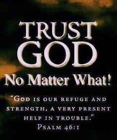 trust God !!!