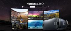 Facebook debuts its first dedicated virtual reality app, Facebook 360 | TechCrunch
