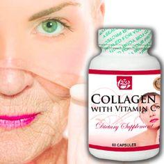 Collagen con vitamina C 60 Capsulas. Comprueba sus extraordinarios beneficios del colágeno en capsulas. MAS INFORMACION EN NUESTRA WEB