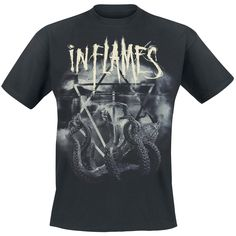 Octo Flames - T-Shirt von In Flames