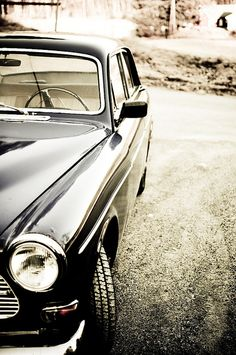 My ultimate getaway car...Volvo Amazon