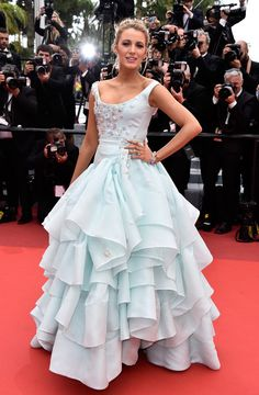Blake Lively in Vivienne Westwood Couture - All the Breathtaking Looks From the 2016 Cannes Film Festival - Photos