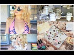 Vlog- Sephora Sale, Erin Condren Unboxing, + Target Finds - YouTube