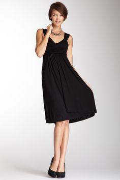 Sleeveless V-Neck Dress  $29.00
