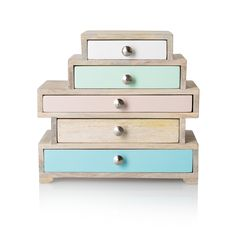 Buy the Eva Five Drawer Jewellery Box at Oliver Bonas. Enjoy free UK standard delivery for orders over £50.