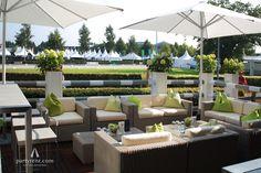 Granada Lounge Setting auf den FEI Europameisterschaften in Aachen. #lounge #outdoor