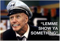 """Is it just me, or has anyone else noticed """"Crazy Joe"""" resembles Fire Marshall Bill more and more!  Fire Marshall Bill Fire Marshall Joe Lemme Show Ya Something"""