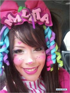 "Clown girl   Payasita ""Maleta"""