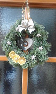 Türdekoration Weihnachten
