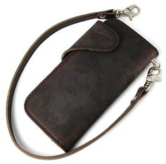 Postage, collect on delivery fee free of charge authorized agent RED WING redwing 960-2107-24 long wallet wallet Horween Leather Ho Win leather chocolate