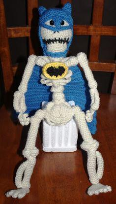 Batman Skull amigurumi