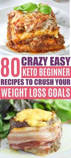 Easy keto diet beginner recipes!! Ketogenic diet beginners, here's all the low carb meal ideas you'll ever need for weight loss!! Keto breakfast, keto lunch, keto dinners, healthy snacks & desserts!